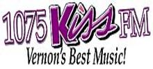 Business Unit Logo For 107.5 KISS FM